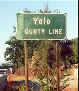 В Калифорнии, США есть район YOLO (You Only…